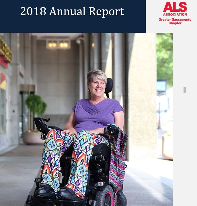 Shelly Hoover, annual report cover image